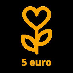 Dona 5 euro