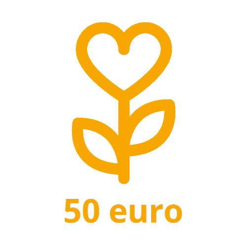 Dona 50 euro a TICE