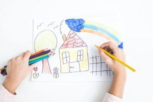 Imparare a disegnare: 3 esercizi di neuropsicomotricità da fare a casa