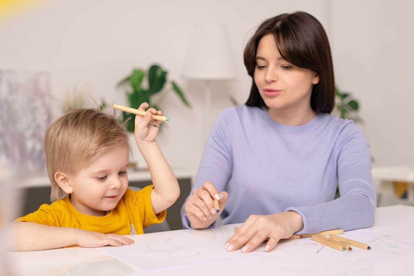 Come aiutare un bambino <br> che non sa disegnare