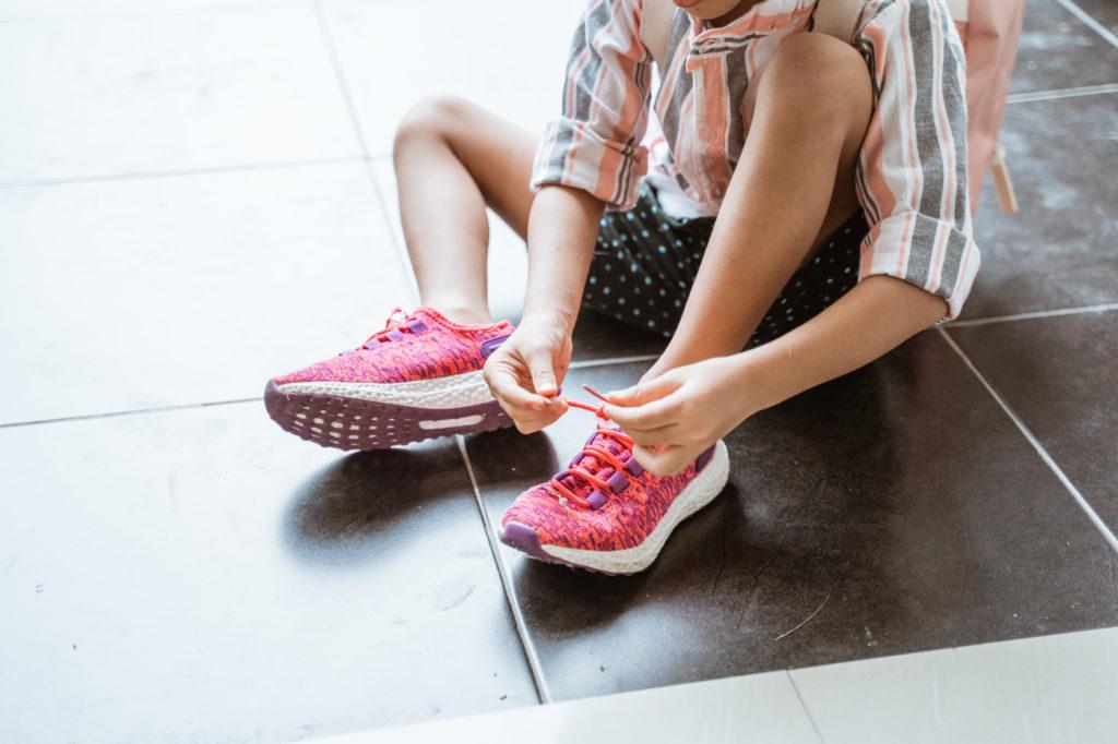 bambino autonomia scarpe